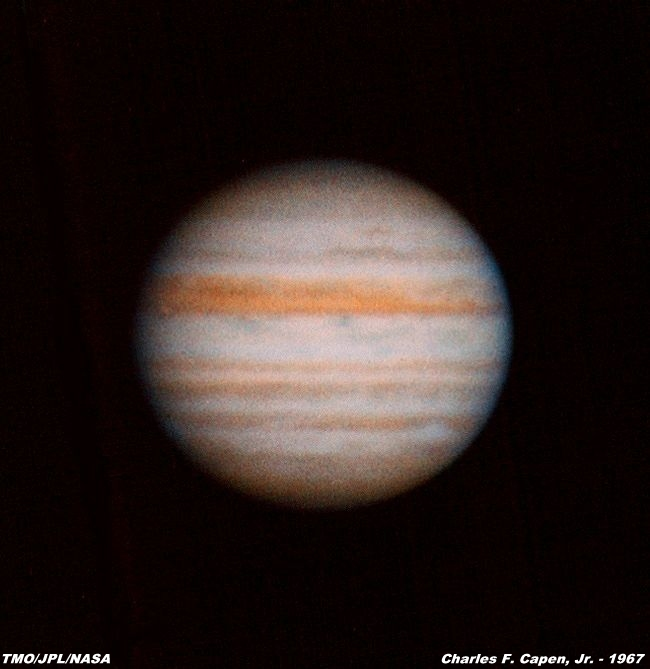 This photograph of the planet Jupiter was taken by Charles ...